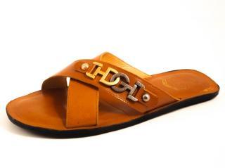 Dolce & Gabbana men's cris cross sandals