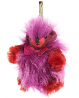 Burberry Thomas Bear Fur Bag Charm
