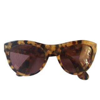 Mui Mui Cat Eye Sunglasses
