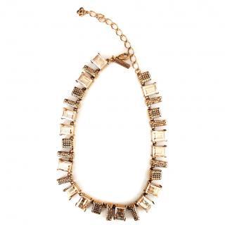 Oscar de la Renta colorway necklace