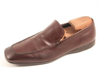 Prada men's moccasin loafers