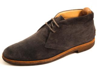 Tod's men's suede mid-ankle boots