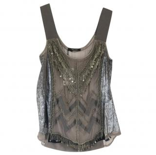 Isabel Marant Embellished Embroidered Top