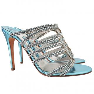 Gina Swarovski Embellished heels UK3 eu36