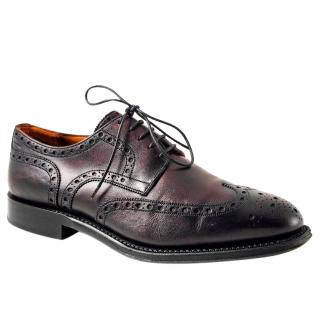 Bally Men's Lace-up Leather Brogues