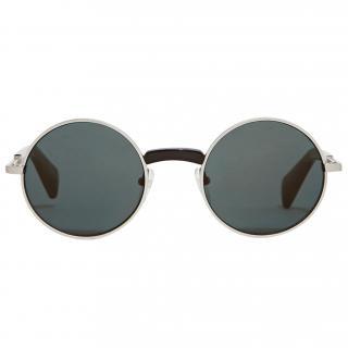 Yohji Yamamoto Men's YY7002 Round Sunglasses