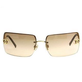 Chanel Brown 4104b Square Sunglasses