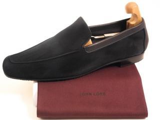 John Lobb Suede Loafers