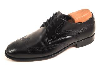 Tod's men's black lace-up brogues