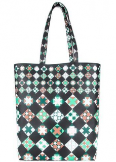 Emilio Pucci Geometric Print Tote Bag