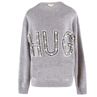 Jeff Embellished Hug Jumper