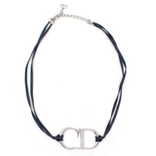 Christian Dior 'CD' Cord Necklace