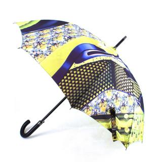 Mary Katrantzou Green Abstract Printed Umbrella