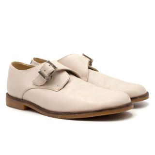 Childrensalon Girl's Cream Buckle-up Shoes