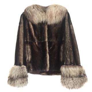 CPL Oak Mink Fur Jacket