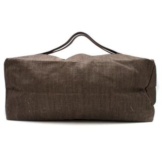 Holland & Holland Brown Duffle Bag