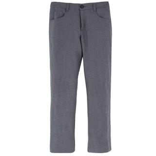 Harrods Boy's Grey Wool Trousers