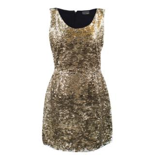 Fendi Sequin Mini Dress