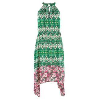 BCBG Max Azria Floral Midi Dress