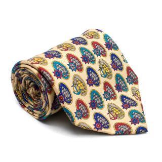 Enrico Rossini Patterned Silk Tie