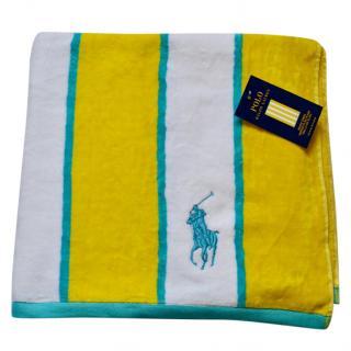 Ralph Lauren Home striped beach towel