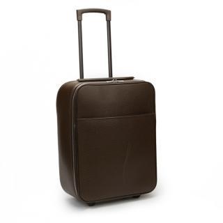 Louis Vuitton Brown Taiga Leather Pegase 45 Rolling Case