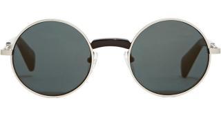 Yohji Yamamoto YY7002 Brown Round Sunglasses