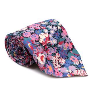 Liberty London Floral Print Tie