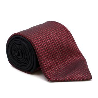 Angelino Multicolour Patterned Silk Tie