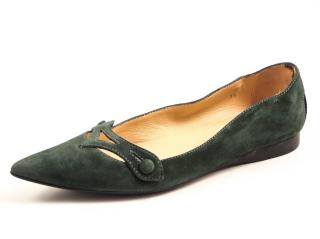 Tod's suede ballet flats