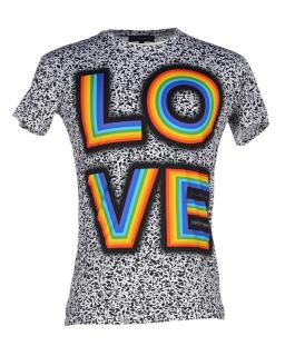 Jonathan Saunders Grey 'Love' T-shirt