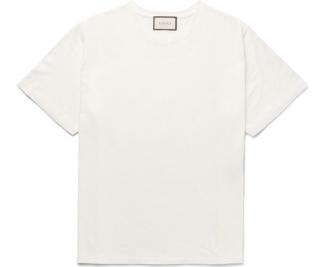 Gucci Distressed Logo Back T-shirt