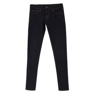 J Brand Darkwash Skinny Leg Jeans