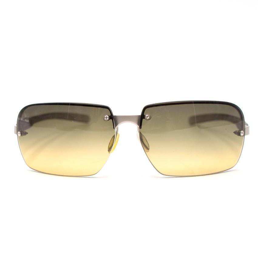 446f76a57b1e Prada Mens Square Sunglasses