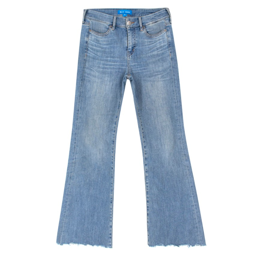 M.I.H Lou High Rise Cropped Bell Jeans