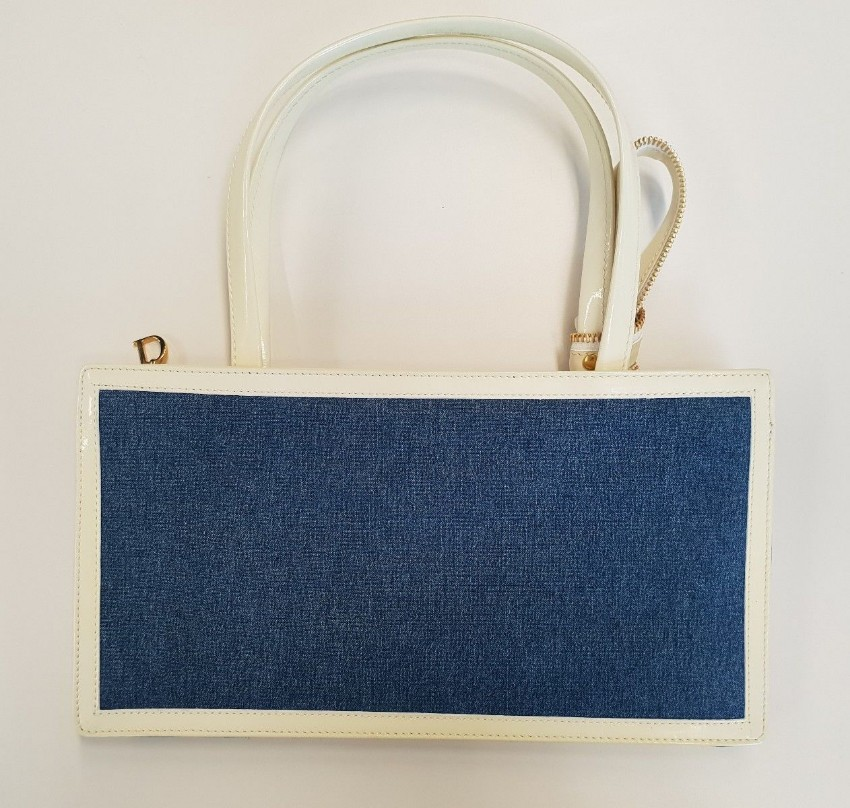 Christian Dior Diorella Denim bag. 21. 12345678910 5356bc29694b6