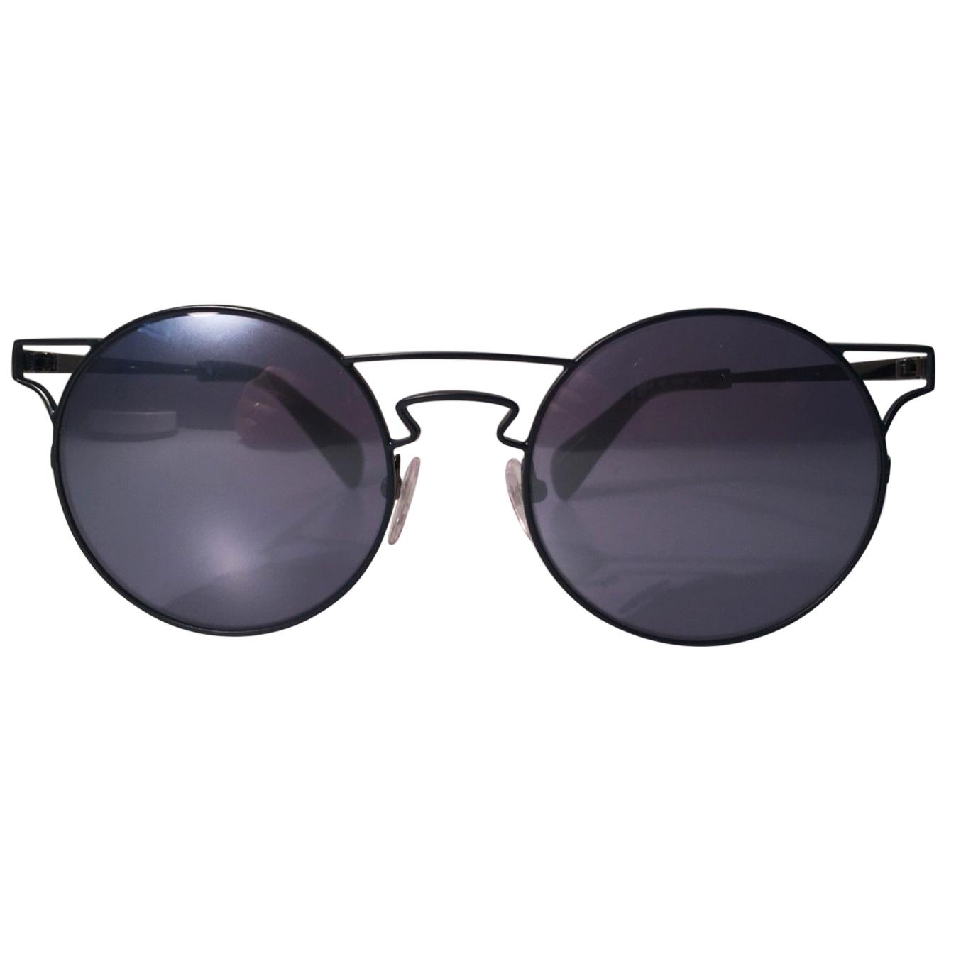 Yohji Yamamoto Men's Round Frame Sunglasses