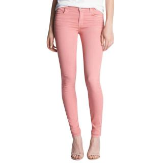 J Brand Super Skinny Jeans In Washed Coho