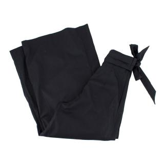 Paper London Paperbag Waist Wide Leg Trousers