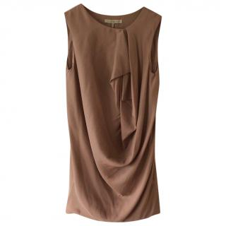 Halston Heritage Dusky Pink draped dress