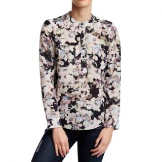 REBECCA TAYLOR Frost Floral Blouse