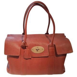 Mulberry Tan Vintage Bayswater Bag