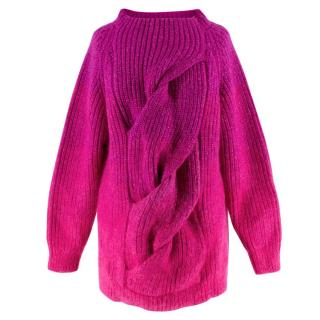 Katie Eary Men's Runway Wool Twist Jumper