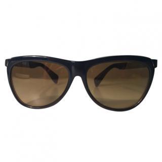 Yohji Yamamoto YY5007 Black Sunglasses