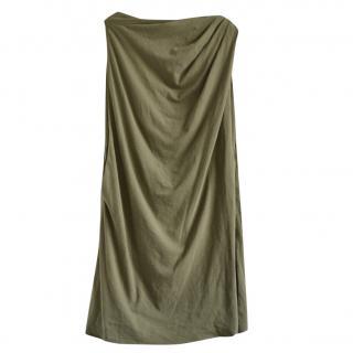 Rick Owens khaki draped top