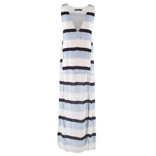 ViX Paula Hermanny Striped Maxi Dress