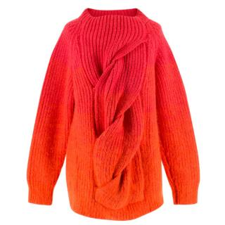 Katie Eary Mens Runway Wool Twist Jumper