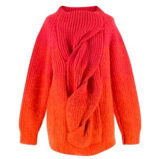 Katie Eary Mens Runway Wool Twist Jumper