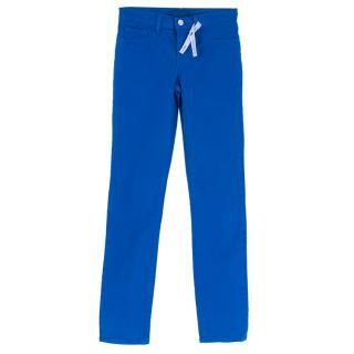 J Brand Royal Blue Skinny Leg Jeans