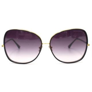 Dita Bluebird-Two Black and Gold Sunglasses